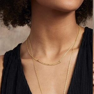 Gorjana Taner Bar Small Necklace (G2)